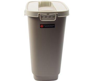 Merkloos Kattenbak - Kattencontainer - Katten - Droogvoer - Voedselbak - Kattenvoedsel - Kattenbakvulling - Container - Voedselcontainer kat - Voedselcontainer