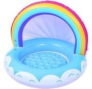 Merkloos Inflatable Pool Rainbow Junior 95 X 66 Cm Vinyl Blue