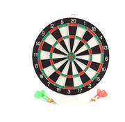 Merkloos Dartboard - 40.5 cm - two-sided - with 6 darts