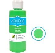 Merkloos Acrylverf waterbasis Neon Groen 118ml - Sneldrogend waterbasis Permanent