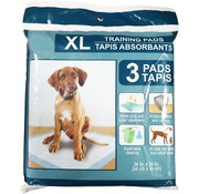 Heavy Duty Heavy duty training pads for large and adult dogs - Potty training - XL 3 pads - 76 cm by 66 cm