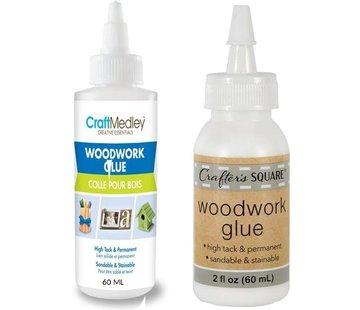 Merkloos Houtlijm waterbestendig - Houtlijm - GEEN Schadelijke stoffen - witte houtlijm - Houtlijm 2 stuks per fles 60ML