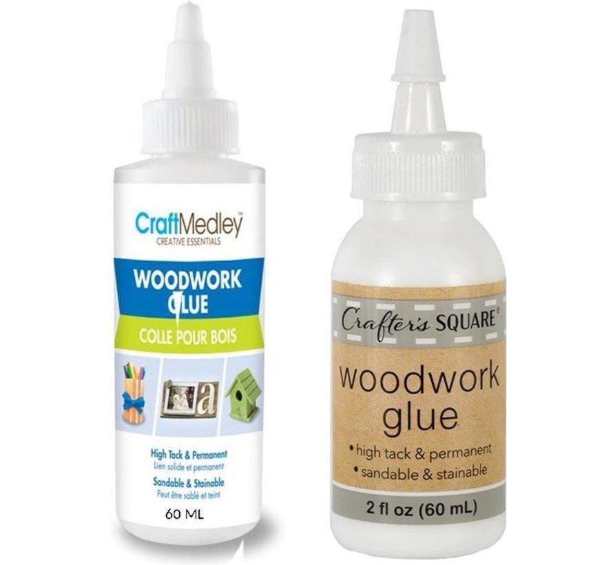 Houtlijm waterbestendig - Houtlijm - GEEN Schadelijke stoffen - witte houtlijm - Houtlijm 2 stuks per fles 60ML
