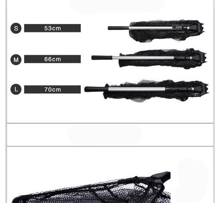 3x Visnet - vissennet - schep - Schepnet Opvouwbaar Aluminium 180 cm