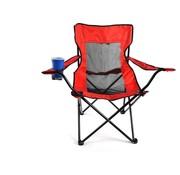 BOBO BOBO Camp - Campingstoel - Vouwstoel - Rood - STOEL OPKLAPBAAR 50X50X80CM