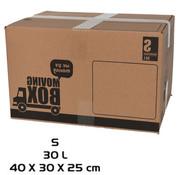 Merkloos Verhuisdoos - 10 stuks - 30 liter - Professioneel, Stevig Verhuisdozen en stevig 40 x 30 x 25 cm