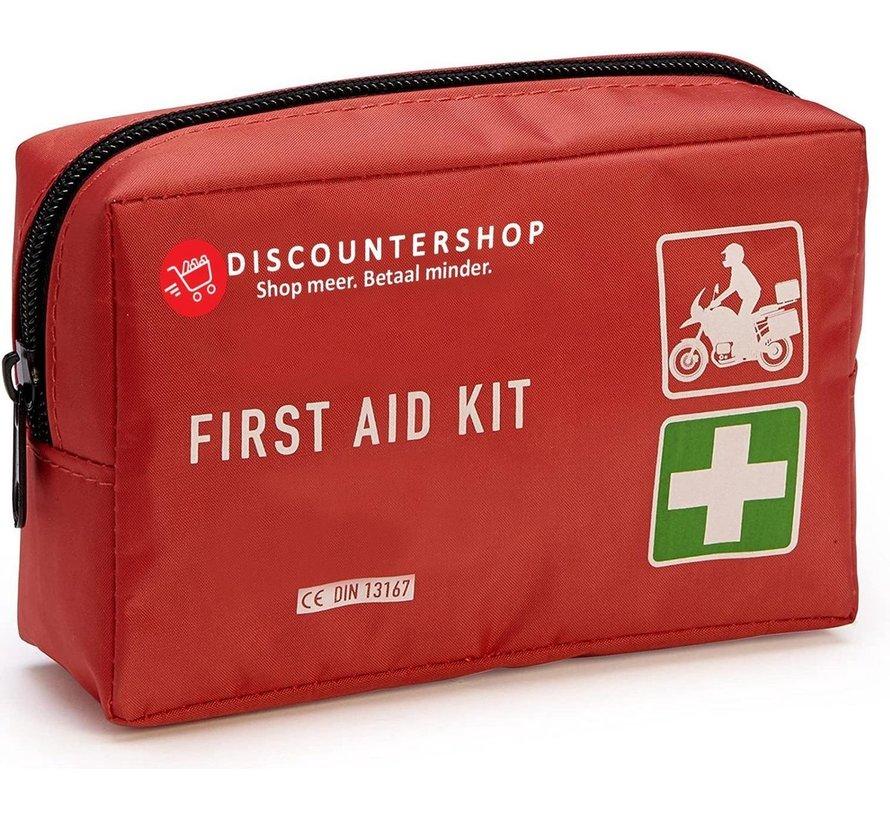 First Aid Kit - EHBO Doos - 41-Delig - Verbandtrommel - Verbanddoos - Verbanddoos motor en auto