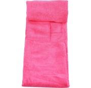Merkloos Handdoek van microvezel in draagtas. Sneldrogend - Compact - Superabsorberend - Lichtgewicht. Perfecte reis-, strand- en sporthanddoek voor sportschool, zwemmen, kamperen, strand, reizen, fitness, yoga, sport