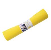 Merkloos Reinigingsdoek 4 meter rol Poetsdoeken Geel voor schoonmaakdoek  - reinigingsdoek - Sopdoeken - A kwaliteit