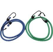 Merkloos snelbinders - Spinbinder - snelbinders - snelbinder 80cm - snelbinder fiets - 2 armen - Uni- bagagespin - spinbinder met twee elastische armen - Elastische binders - met haak- Haak - Binders