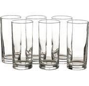Merkloos 6 Stuks Glazen waterglazen - 6 longdrinkglazen 27 cl inhoud