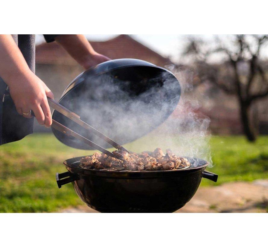 4 X houtskoolbriketten 2 KG per - inclusief aanmaakblokjes 64 Stuks - Barbecue - BBQ - 4 Stuks
