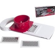 Merkloos 3-In-1 Keuken Mandoline Snijder – Groentesnijder Rasp – Keukensnijder Snijmachine – 28cm – Wit
