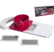 Merkloos 3-In-1 Kitchen Mandolin Cutter – Vegetable Cutter Grater – Kitchen Cutter Slicer – 28cm – White