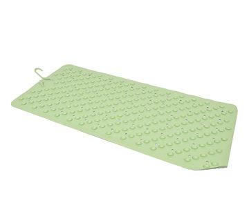 Discountershop Badmat Groen - 76 x 36 cm - antislip mat - voor bad en douche Rubberen Antislip Douchemat - 36x76 cm | Kwaliteit | Groen