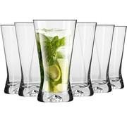 Merkloos Water - Glazen -  Drinkglazen - Longdrinkglazen - 300 ml. - 6 Delig