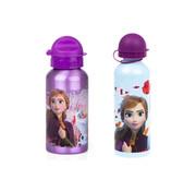 Disney Frozen Disney Frozen Kinderdrinkfles, 500 ml, veiligheidssluiting, 2 stuks- per fles 500 ML - Drinkbeker - Frozen Disney aluminium fles
