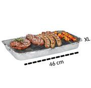 Merkloos XL wegwerp Barbecue - Instant - Wegwerp - Buiten barbecue - Tafel - Rooster - Balkon - Picknick - Barbecue accessoires - Grill - Barbecue kopen - Barbecuen - Barbecue saus -