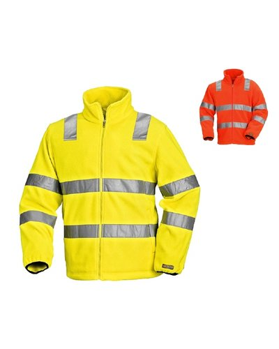 Blaklader Fleecejas High Vis