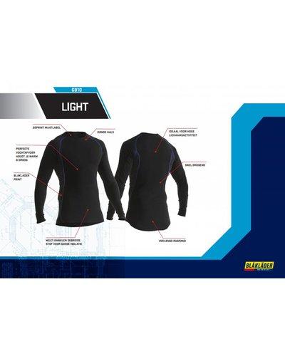 Blaklader Onderkleding set Exolight met uitstekende vochtregulatie in maat S t/m 4XL