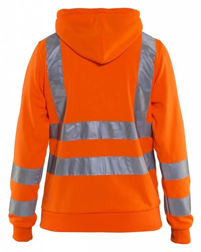 Blaklader Hooded sweatshirt High vis.