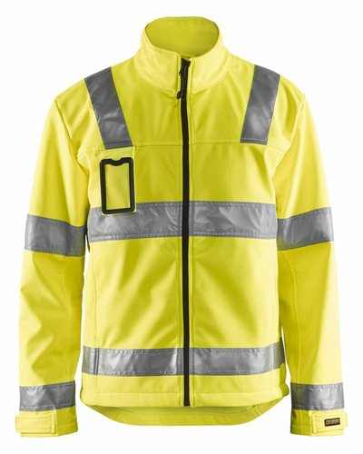 Blaklader Jas softshell High Vis.