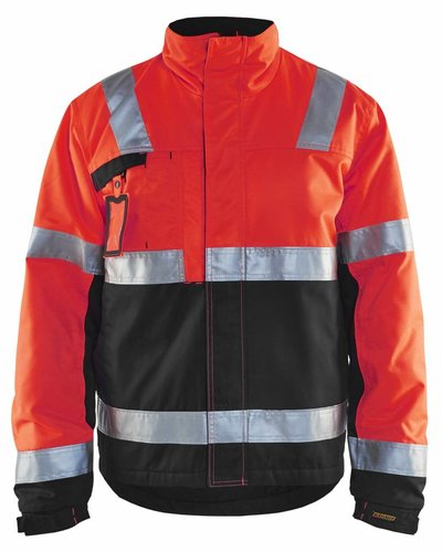 Blaklader 4862 Winterjas High Vis met striping