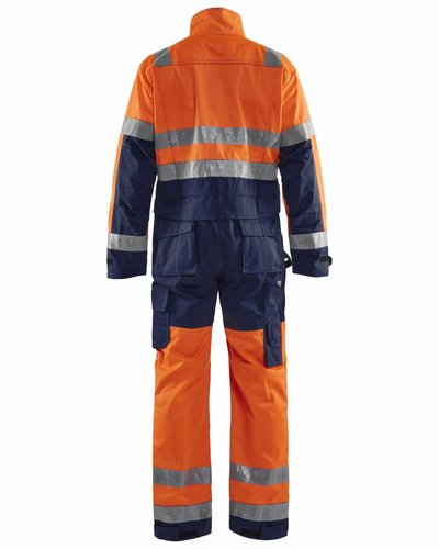 Blaklader Overall High-Vis met striping