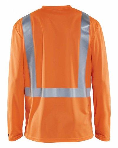 Blaklader High-vis T-shirt met lange mouwen