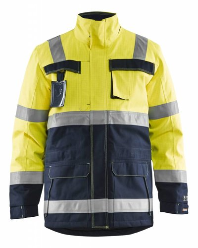 Blaklader Multinorm gesertificeerde winterparka met striping