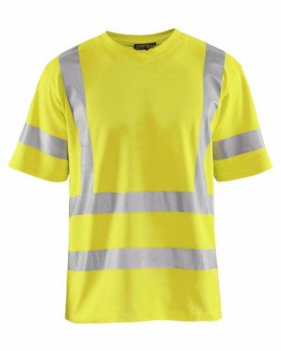 Blaklader High Vis T-shirt UPF met striping