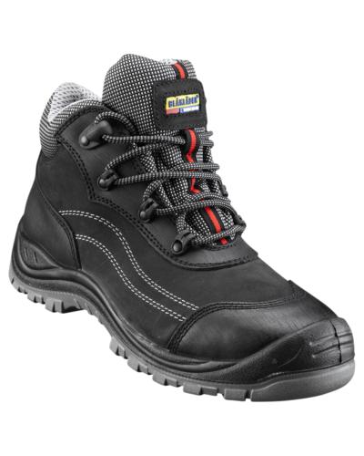 Blaklader Waterafstotende werkschoenen in zwart en bruin