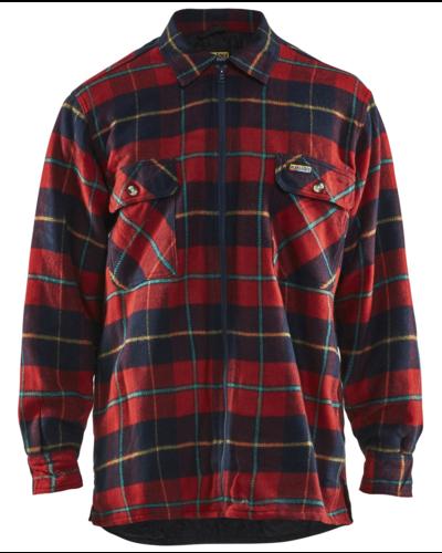 Blaklader Overhemd Flanel, gevoerd met twee borstzakken.