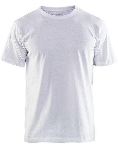 Blaklader T-Shirt met versterkte hals en per 10 verpakt