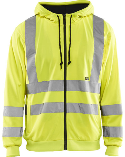 Blaklader Hooded Sweatshirt High Vis