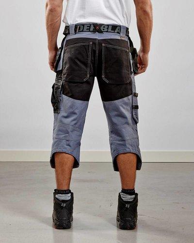 Blaklader Piraatbroek met spijkerzakken van Blaklader driekwart model