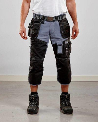 Blaklader Piraatbroek met spijkerzakken driekwart model