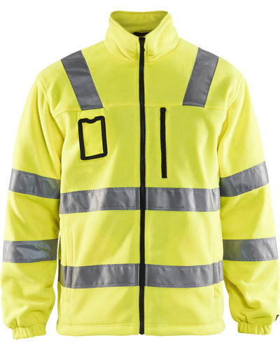 Blaklader Fleecejas High Vis, Klasse 3