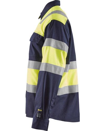 Blaklader 3228 Vlamvertragend Overhemd met triping