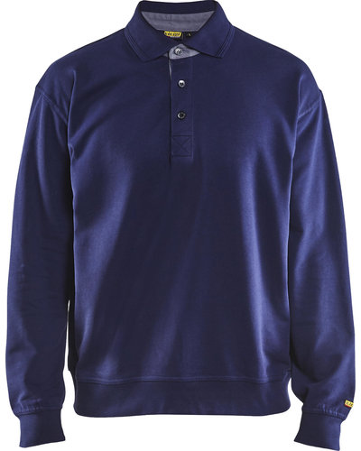 Blaklader Polo Sweatshirt met kraag