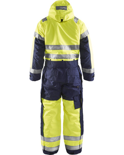 Blaklader Winteroverall High Vis met striping