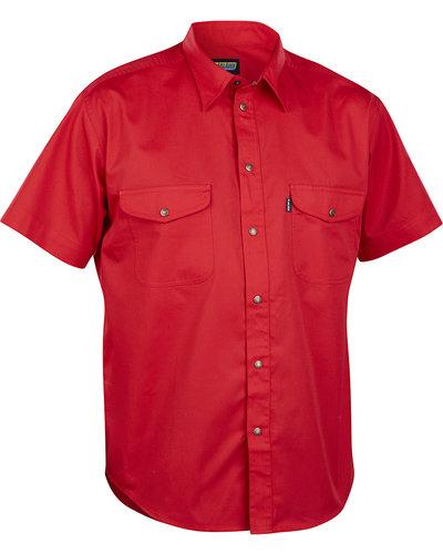 Blaklader Overhemd met drukknopen