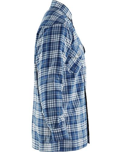 Blaklader Overhemd Flanel, gevoerd en met borstzakken