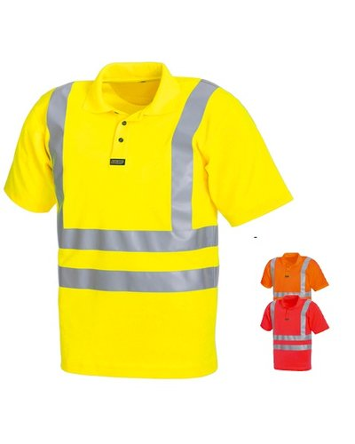Blaklader Piqué polo High Vis 3310