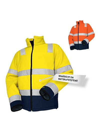 Blaklader Fleece jas High Vis