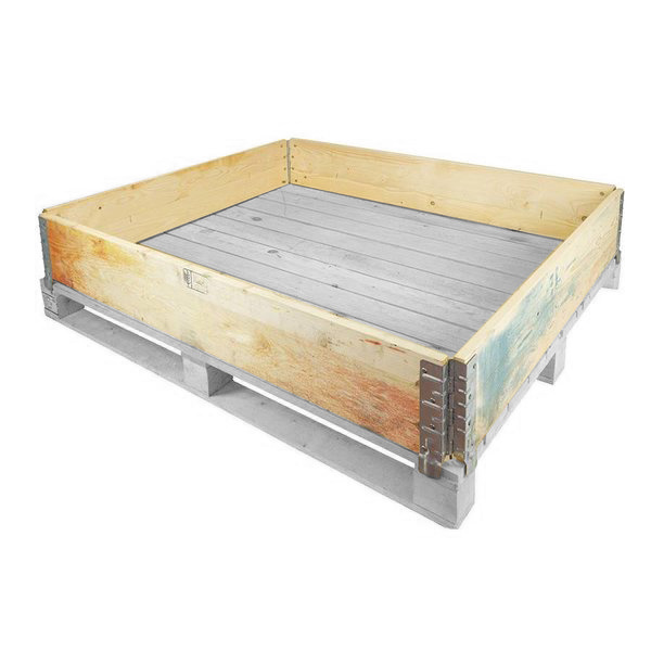 Used Wooden Pallet Collar - 1200x1000x200mm - Rotomshop UK