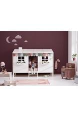 Flexa Half Classic Huis één venster - Terra/wit