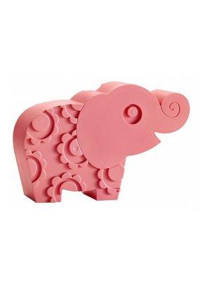 Blafre Lunchbox olifant - roze
