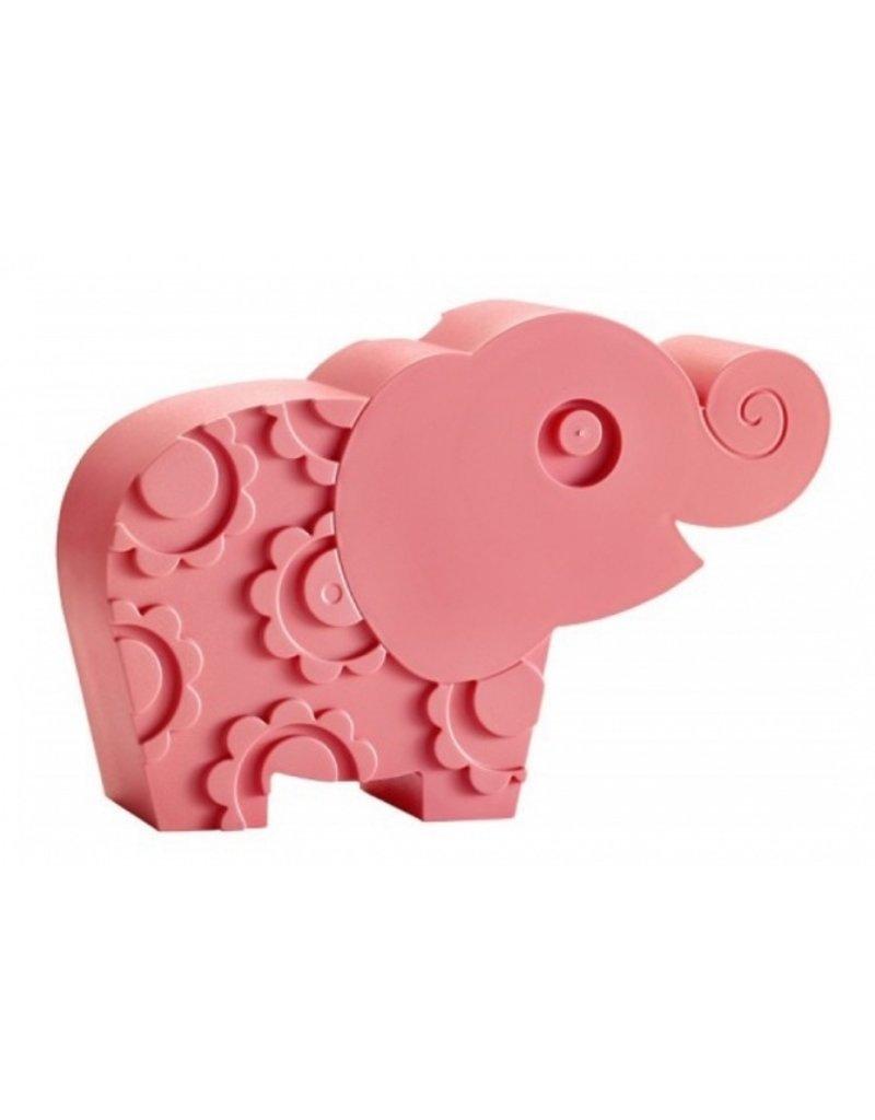 Blafre Lunchbox olifant | roze