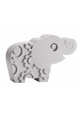 Blafre Lunchbox olifant - grijs